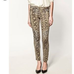 🐯Lucid Ltd leather python pants GET THE LOOK!